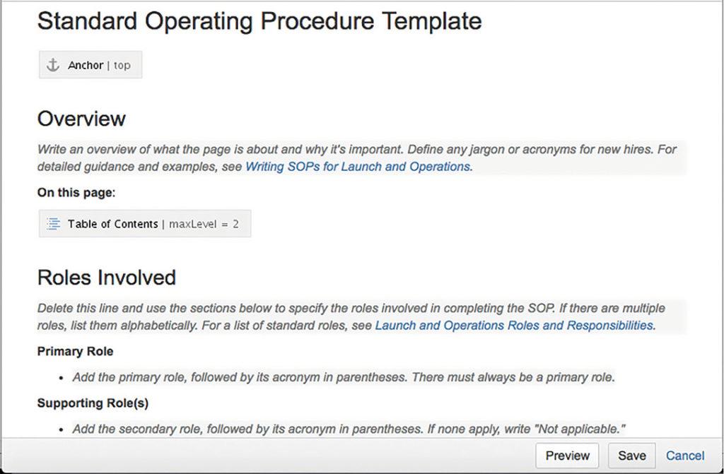 procedure note template