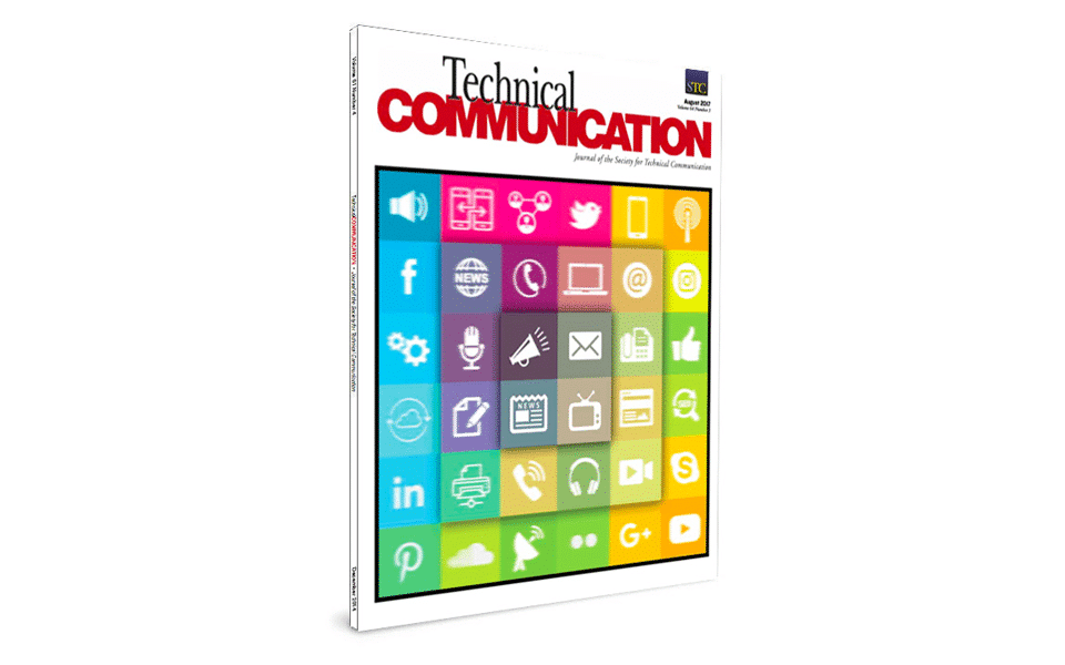 Meet the August 2017 Technical Communication Cover Artist