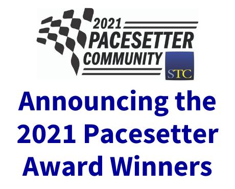 2021 STC Pacesetter Award Winners