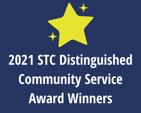 Announcing the 2021 STC Distinguished Community Service Award Winners