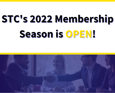 The Society for Technical Communication (STC) is excited to announce the 2022 Membership Season is open!