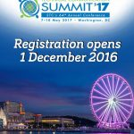 Save the Date for the 2017 Summit, 7-10 May, in Washington, DC at Gaylord National Resort