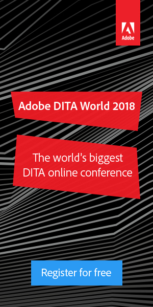 Adobe DITA World 2018