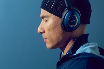 man with headphones v2