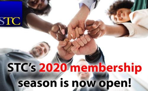 STC's 2020 Membership Season is Now Open!