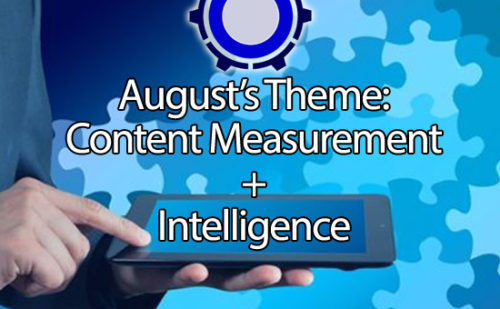 It's Time to Subscribe to August's STC Roundtable: Content Measurement and Intelligence