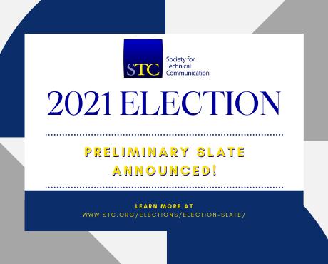 STC 2021 Election Preliminary Slate Announced