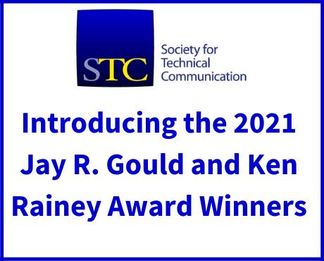 2021 Jay R. Gould and Ken Rainey Award Winners