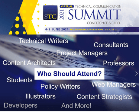 Join Us for STC's 2021 Virtual Technical Communication Summit