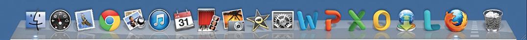 Figure 1. Skeuomorphic design: Apple's Mac OS X Snow Leopard version 10.6.8